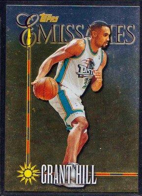 98-99 TOPPS EMISSARIES #E10 GRANT HILL