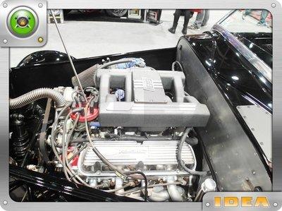泰山美研社 D1659 1957 CHEVY TRUCK QuikSilver 引擎配置/整理施工