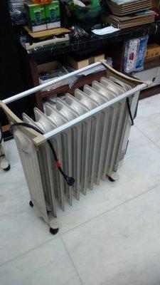 德國原裝進口  二手北方葉片式-11片電暖器 功能正常