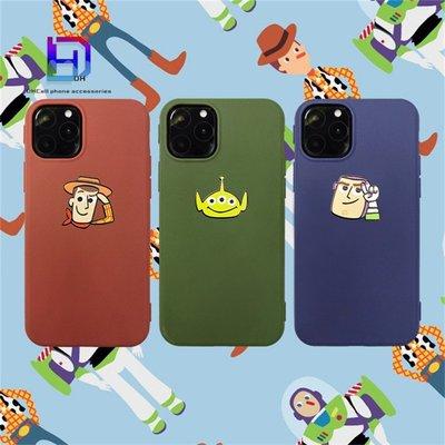 【現貨iPhone12手機殼】玩具總動員iphone11手機殼三眼怪xs i7 i8plus xr pro手機殼巴斯光年