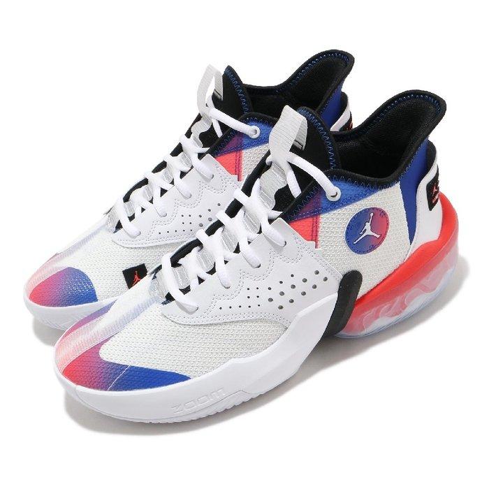 =CodE= NIKE JORDAN REACT ELEVATION PF 籃球鞋(白藍橘)DC5188-102 AIR