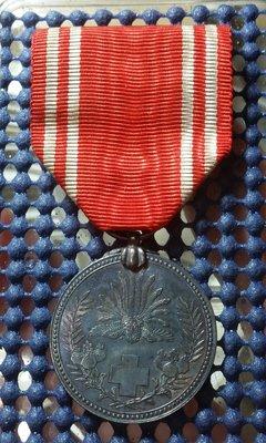 (勳章獎章)E13 日本赤十字社銀章