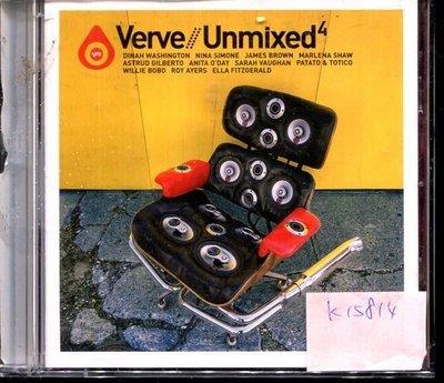 *真音樂* VERVE / UNMIXED 4 歐版 二手 K15814