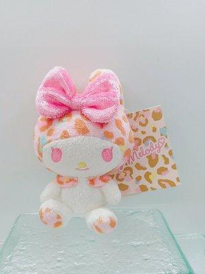 日本三麗鷗特別豹紋版美樂蒂鑰匙圈吊飾