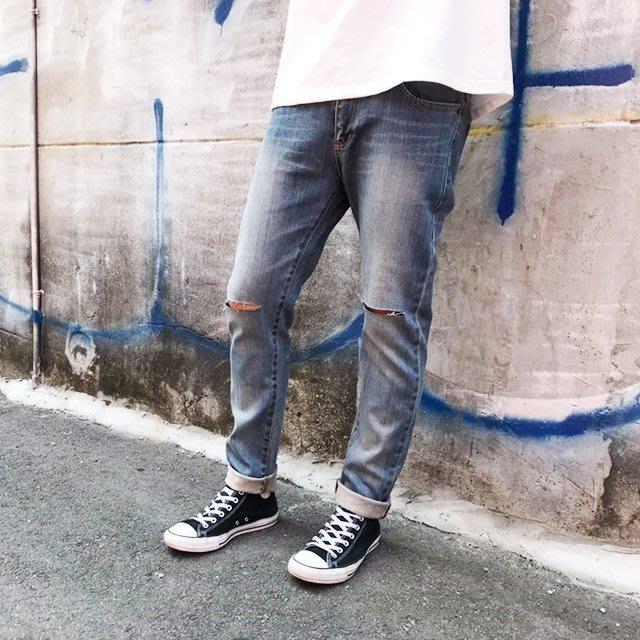 藤原本鋪 PERCENT% BJ2004 刀割破壞牛仔褲
