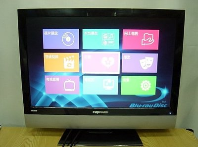 保固3個月【小劉二手家電】燦坤FUJIMARU 22吋 HDMI液晶電視,FJ-L22A4型,附代用遙控器!