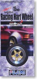 富士美拼裝汽車模型 1/24 Racing Hart 15寸輪圈連輪胎19271