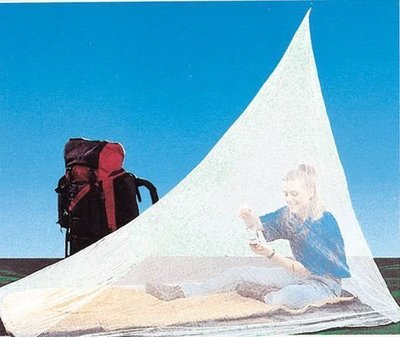 大里RV城市【Coghlans 加拿大】金字塔型登山健行個人蚊帳.簡易帳篷/單人防蚊帳/野外網帳 9775