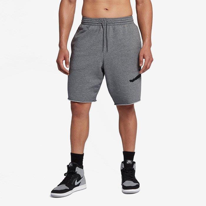 Nike JORDAN FLEECE SHORT 棉短褲 灰色 大飛人 AQ3116091 -SPEEDKOBE-