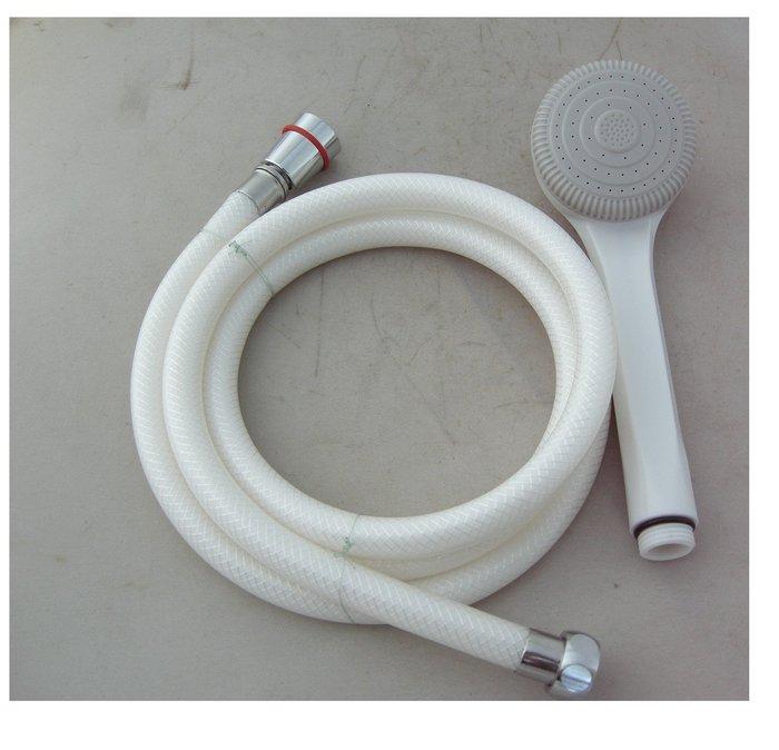 2076-6台灣製造不打結 萬向沐浴管6尺+蓮蓬把手組