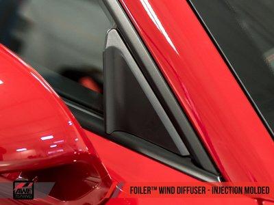 =1號倉庫= AWE Tuning 窗戶導流板 Porsche 718 981 991