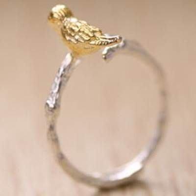 925純銀戒指 銀飾-小鳥可愛吸睛生日情人節禮物女飾品73ae61[獨家進口][米蘭精品]
