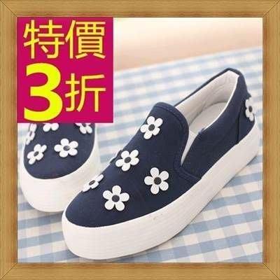帆布鞋 女平底鞋-好搭魅力韓版女休閒鞋4色53u55[韓國進口][米蘭精品]
