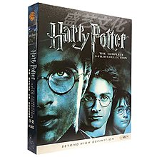 電影 哈利波特1-7全集 DVD 完整套裝盒裝 國英雙語 繁體中文字幕 8碟 唔西.迪西 H227