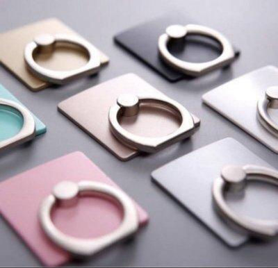 簡約手機指環支架 黏貼式 通用款 360度 手機架 手機座 戒指支架 I6 6S I7 工商廣告 贈禮品 客制化商品