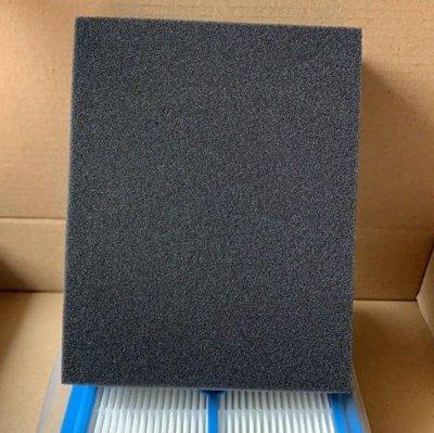 副廠 水洗黑棉 適 伊萊克斯  飛利浦 。 高效材料 彈性好 抗老化