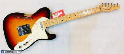 [丞音樂器]Fender American Deluxe Telecaster Thinline美廠 電吉他