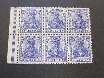 【雲品】德國Germany 1918 * 84 MNH(except MH on 1X2)