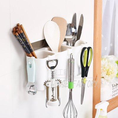 瀝水置物架 (超強專利魔力無痕貼) 收納架 廚房置物架 筷子 湯匙 勺子 浴室收納架