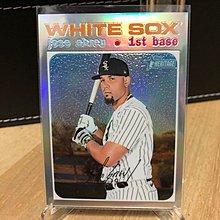 白襪一哥 2020 Topps Heritage High Number Jose Abreu Chrome Refractor /571 White Sox