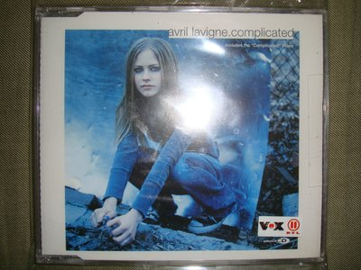 艾薇兒 AVRIL LAVIGNE Complicated 超複雜 單曲 絕版 現貨