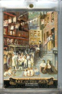 """2015 UD Goodwin Art Of Ages Georeg Bellows """"Cliff Dwellers"""""""