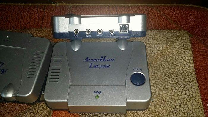 5.1聲道USB音效,隨插隨用免裝驅動,可插耳機或主動式電腦喇叭。讓舊電腦重生。