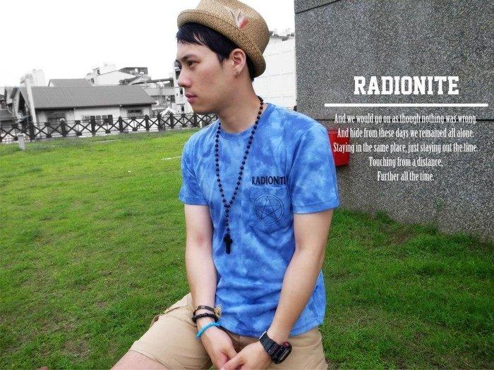 美國東村【RADIONITE】五芒星 渲染 口袋 短TEE  綠迷彩 藍 紫