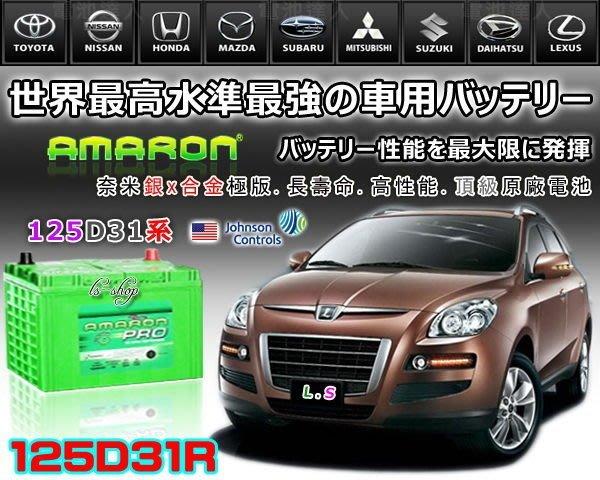 【電池達人】愛馬龍 汽車 電池 DELICA 得利卡 柴油車 雙龍 起亞 三菱 現代 iX35 挖土機 125D31R
