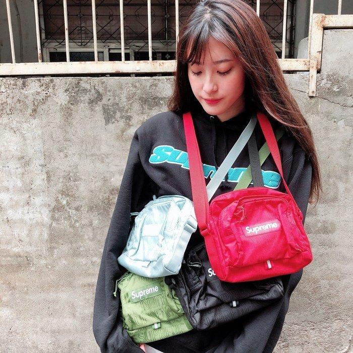 玉米潮流本舖 SUPREME Shoulder Bag 46TH SS19B10 小包 側背包 SS19 WEEK1