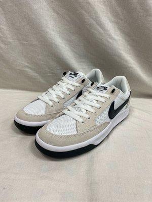 NIKE SB ADVERSARY 男款 休閒鞋 麂皮  復古 滑板鞋 灰色 CJ0887-100