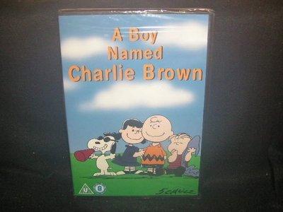 查理布朗男孩 A Boy Named Charlie Brown  英版二區 DVD