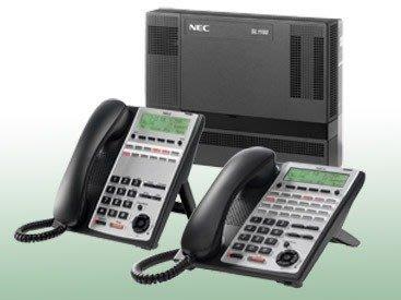 電話總機銷售安裝服務...NEC  SL-1000主機+4台12鍵顯示型話機12TXH(黑色)....新品專業服務