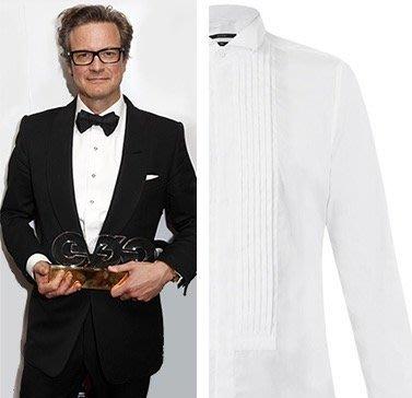 歐碼52 Lanvin 浪凡深黑羊毛單排扣晚宴西裝上衣