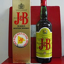 Scotch Whisky J&B RARE 75CL