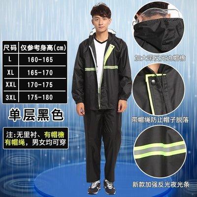 【免運】分體式干活交通旅游自行車成人雨衣雨褲套裝採茶半身防風女裝女士