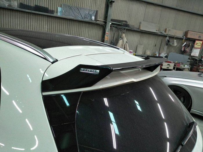 DJD19071525 BENZ W176 B款 碳纖維 卡夢 尾翼 A180 A200 A250 A45