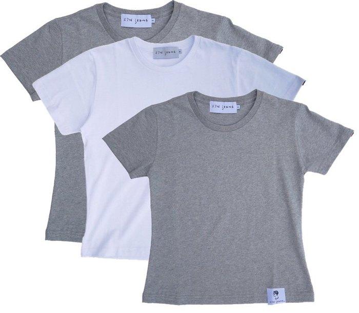 專為170cm以下設計的台灣製高質感 厚T-shirt(三件組)