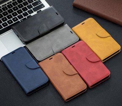 LG G8 ThinQ 手機殼 商務款 類皮紋 磁扣 支架 保護套 G8 翻蓋 內插卡 皮套