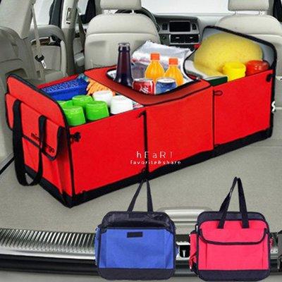 【媽媽倉庫】可折疊超大容量汽車保冰收納包 汽車用品 大型收納袋 保溫保冰袋
