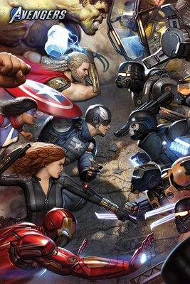 英國進口海報 PP34709(復仇者聯盟 對峙 Avengers Gamerverse )