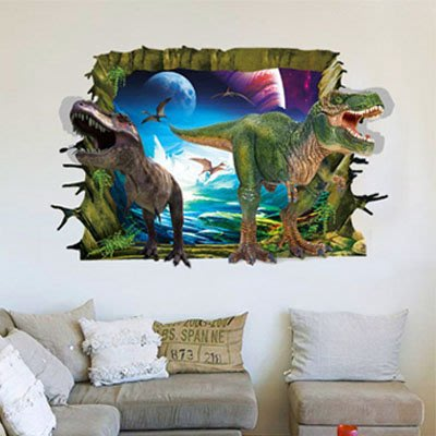 創意壁貼-3D恐龍世界 AY9265-972【AF01013-972】99愛買
