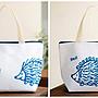 ☆Juicy☆日本雜誌附贈 Lisa Larson 北歐 貓咪 刺蝟 雙面 保冷袋 便當袋 保溫包 手提袋 7021