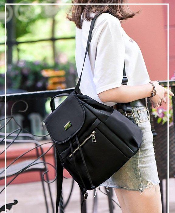背包 雙肩包 單肩包 手提包 側背包 包包大容量女包 手提包 時尚高密度尼龍 防潑水單肩旅行包女士手提背包