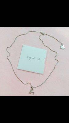 Agnes'b 純銀項鍊