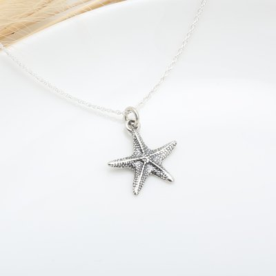 可愛 海星 starfish s925 純銀項鍊 生日 週年 情人節 禮物