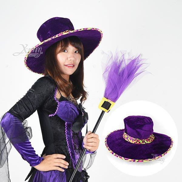 節慶王【W382150】西部牛仔彩帽-豹紋紫,萬聖節/Party/角色扮演/化妝/舞會/cosplay/造型/牛仔帽