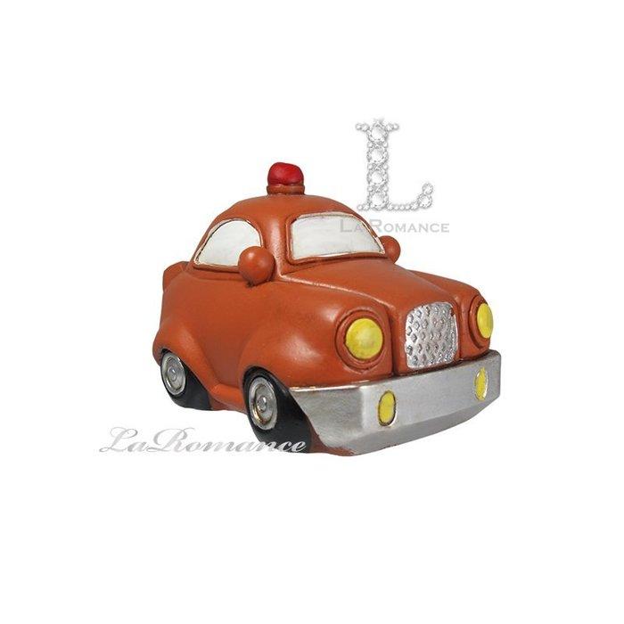 【COCORO 童趣物語特惠系列】 棕色警車存錢筒 / 撲滿 / 小孩、兒童房