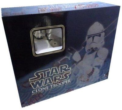 全新 GENTLE GIANT STAR WARS 星際大戰 CLONE TROOPER 白兵 胸像