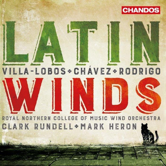 維拉羅伯斯 & 羅德利果:拉丁木管音樂/ RNCM木管樂隊 RNCM Wind Orchestra-CHAN10975